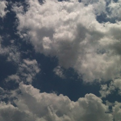 #clouds #today #sky #instagram  (Taken with instagram)