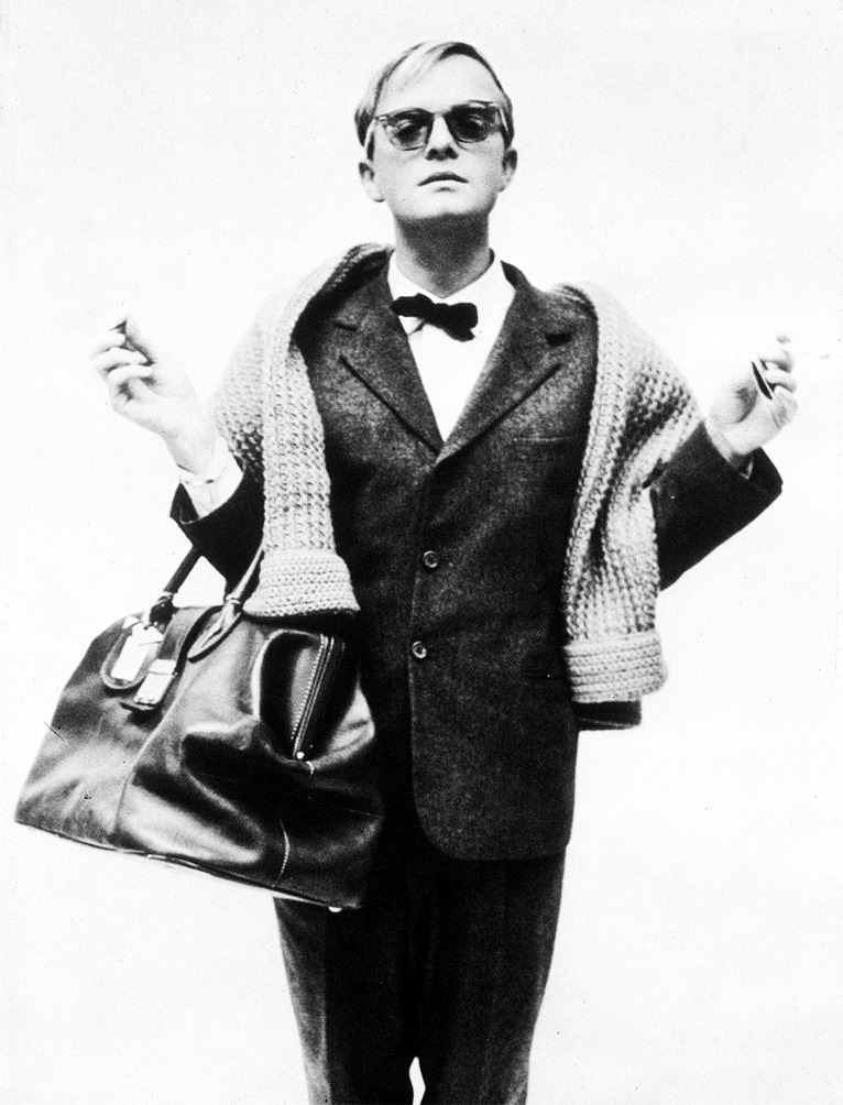 The master Truman Capote sea-era:  kind of obsessed with this picture of Truman Capote