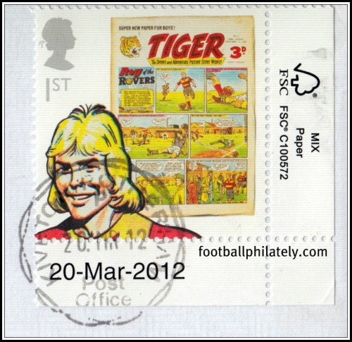 Roy of the Rovers - GB 2012 The Football Stamps of Great Britain
