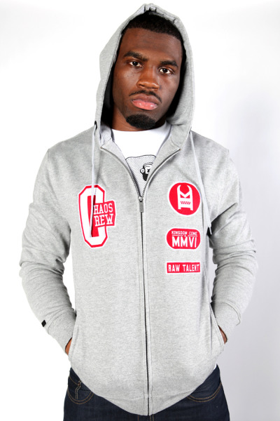 EARL BENNETT  IN OUR  CHAOS ZIP HOOD