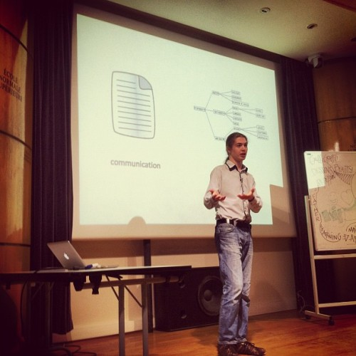 Bruno rocking the #MindGroupe  (Taken with Instagram at Ecole Normale Supérieure - Futur en Seine)