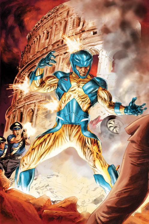 X-O Manowar #4  On Sale Aug 2012 Valiant Entertainment