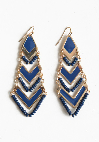 These are sure to…. chase my blues away earrings
