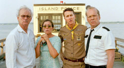 Giving Chase to Young Love on the Run Wes Anderson's 'Moonrise Kingdom' With Bill Murray