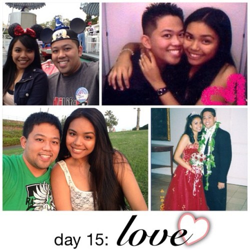 Day 15: love. Love him w/ all my heart. 121604. @dj_lazaro #photoadaymay  (Taken with instagram)