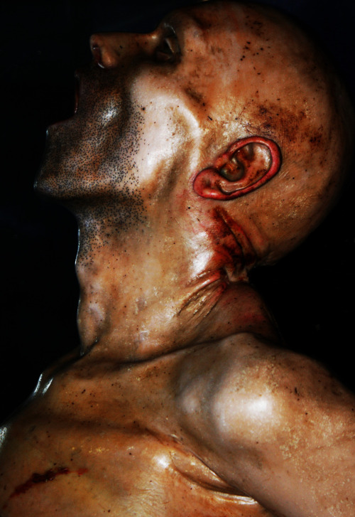 'SCREAMER II'By Mia-Jane Harris(Joseph Townes wax anatomy models from the Gordon Museum)