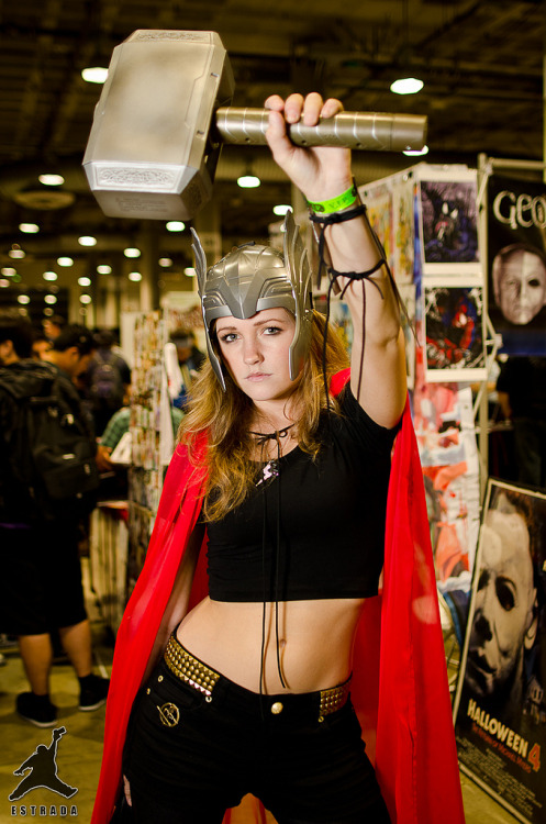 Cosplay of the day: Lady Thor See more pictures of sexy ladies dressed as Thor here.