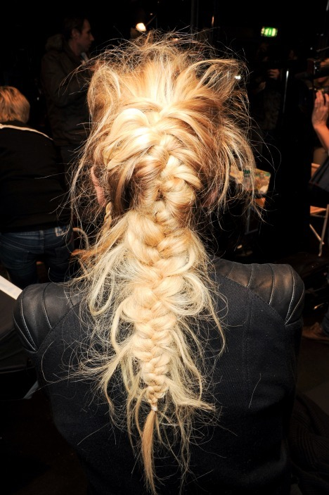 Love this messy braid! Messy hair is totally in this summer. So don't feel bad when you get out of bed and can't find a brush! xox-J
