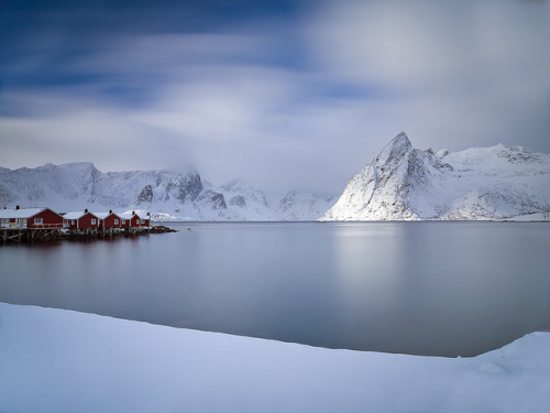 Hamnøy Harbour by antonyspencer on Flickr.