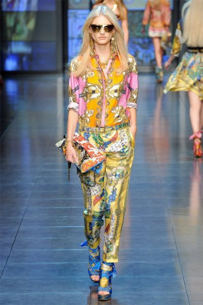 D&G Spring 2012 Milan Fashion Week[Kick Ass]