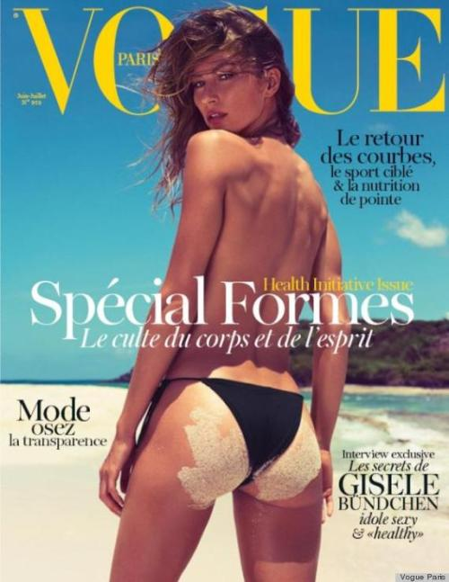 Gisele Vogue Paris June 2012 Cover