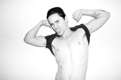terrysdiary:  Jared Leto at my studio #9
