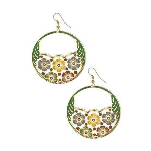 Jewellery - Deepta Flower Earrings