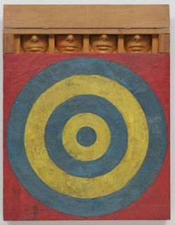Jasper Johns, Target with Four Faces (1955) (via MoMA)