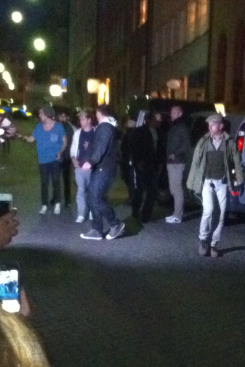 One direction yesterday in sweden :)))