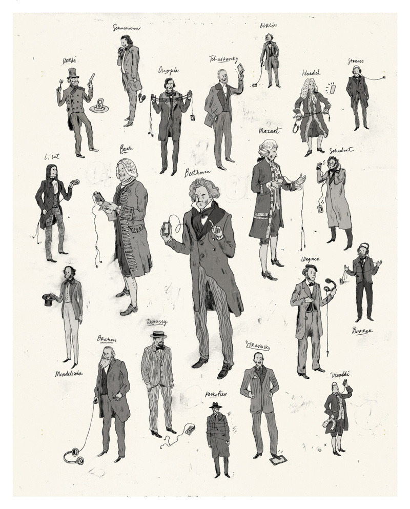 beatonna:  Great, great drawings by Peter Oumanski
