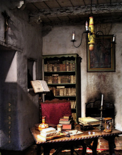 old room in a monastery by dakota harris on Flickr.
