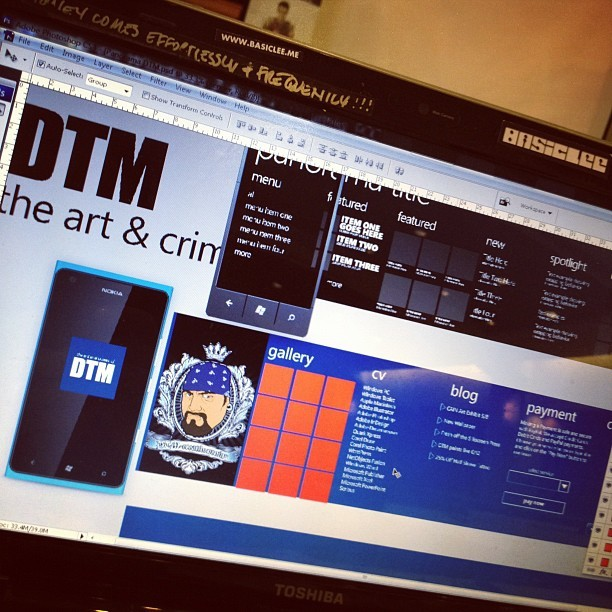 I'm here to steal the show cuz I'm a Bandit!!! #windows #win7 #design #app #dev #mobile (Taken with Instagram at Georgia Tech Student Center Ballroom)