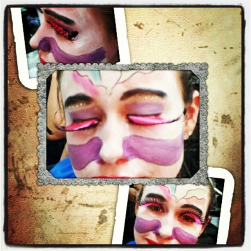Make up final done (Taken with instagram)