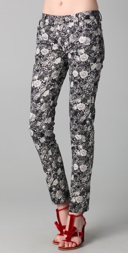 A just right floral Thakoon Rose Print Pants