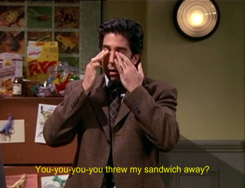 5 x 09: The One with Ross's Sandwich