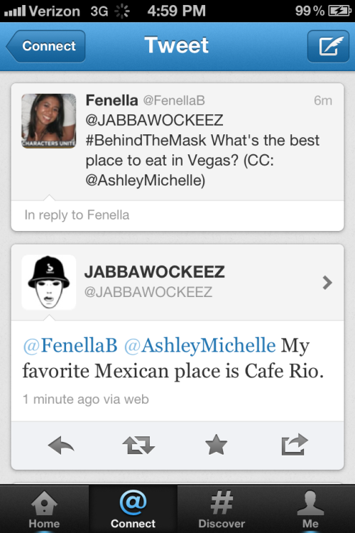 I heart the Jabbawockeez and Mexican food!