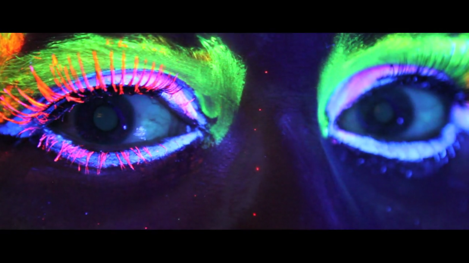 My eyes in the Love Superhero video… unbelievable.