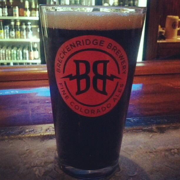 Starting ACBW a day late with the Breckenridge Vanilla Porter (Taken with instagram)
