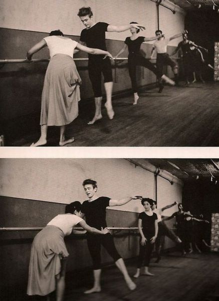 supercooper35:  James Dean practicing ballet