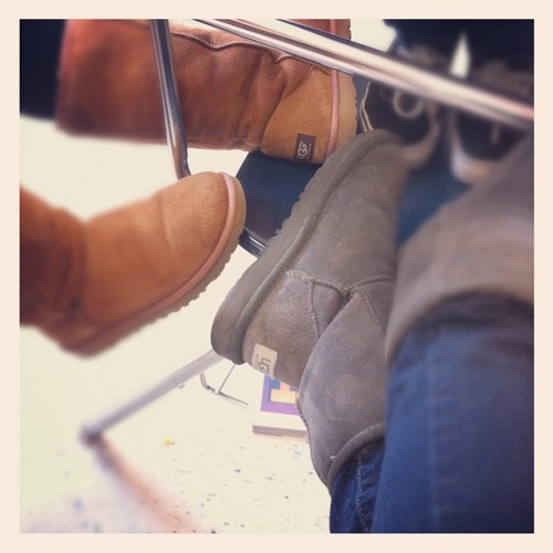 UGG fa' today. @iszhnelle (Taken with instagram)
