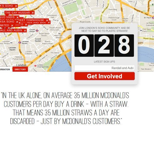 It's the little things that add up. See the stats for straws in London restaurants.