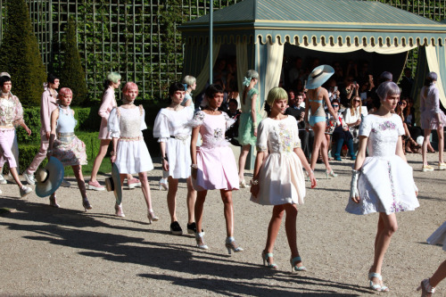 ON THE RUNWAY: Chanel Resort 2013 Photographed by Molly SJ Lowe