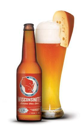 "Today in awesome things:  Lakefront Brewery Inc. has introduced Wisconsinite, a new unfiltered Weiss-style beer made entirely of local, Wisconsin-grown ingredients. The beer was created around a new native Wisconsin yeast strain envisioned by Lakefront president Russ Klisch and developed by Jeremy Kingof home brewing supplies distributor Northern Brewer. The new strain is believed be to the only North American-grown yeast in commercial use today as well as the first native brewing yeast from Wisconsin, according to Lakefront Brewery.  All products used in Wisconsinite come from local sources, including its water (Lake Michigan), malted barley (from the Milwaukee location of Malteroup), wheat (Chilton) and hops (Mazomanie). Klisch hopes the distinct flavor of the new yeast will eventually create a new category of beer called Wisconsin Weiss. Because he believes the flavor is so distinct, he plans to forgo compensation to make it available to other brewers in order to perpetuate the new style. The new yeast is available for purchase by home brewers through Northern Brewer in Milwaukee and Minnesota.  Related: How delicious does it look to garnish your beer with a cheese wedge? I think we can agree that it looks SO DELICIOUS, and might actually embody the idea of ""treating yourself."""