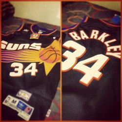 Charles Barkley jersey. Copped. (Taken with instagram)
