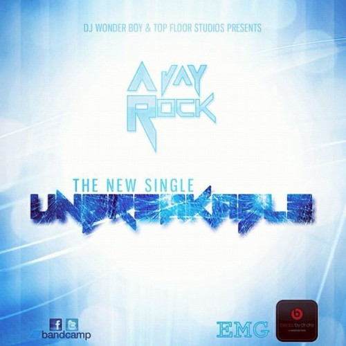 #new singles cover I designed for @ajayrock #unbreakable  (Taken with instagram)