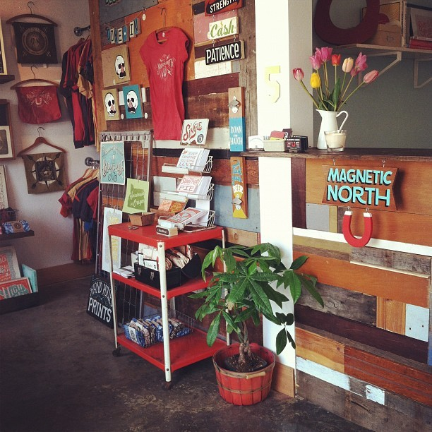 magneticnorthpdx:  Magnetic North now has business hours so you can plan your next visit! Magnetic North is open Tuesday-Saturday from 11-6pm or by appointment