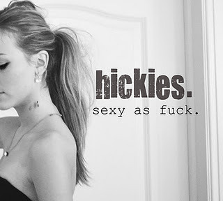 fucked and fabulous.: thoughts on hickies.