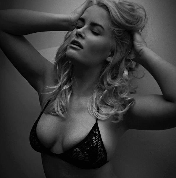 Model Whitney Thompson by Dan Williams.