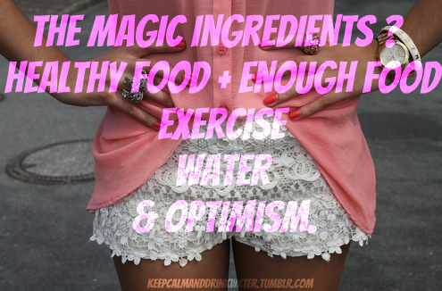 The Magic Ingredients? Reblogging for tags sorry !