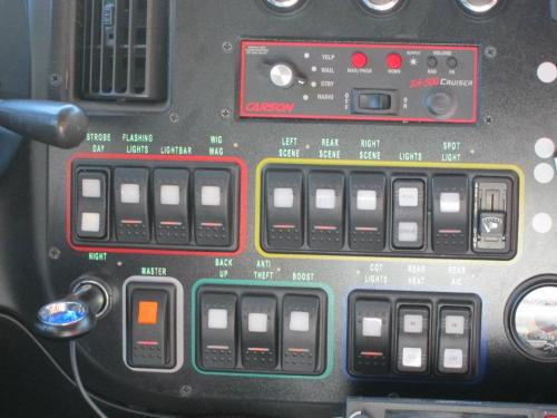 Sometimes don't you want to press all the buttons in the ambulance :D? photo creds go to my friend when she got to ride an ambulance.