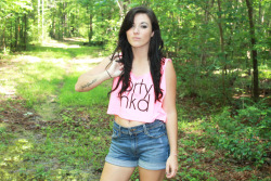 Get this Naked Mag collaboration PRTY NKD crop top at www.shopjawbreaking.com!