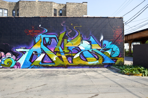 Graffiti by Amuse 126 photo by Brock Brake