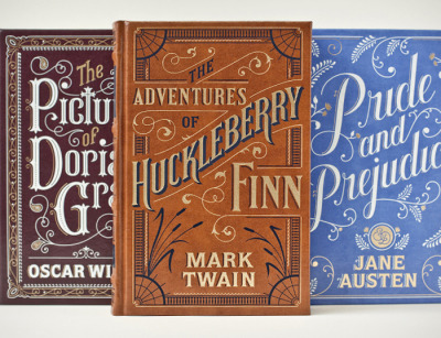 explore-blog:  Magnificent typographic covers for literary classics by the one and only Jessica Hische. Best thing since Coralie Bickford-Smith's Penguin Classics.  (↬ The Dieline)