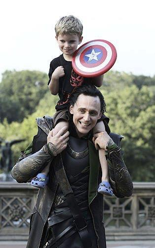 Story of a Five Year Old Avenger, Meeting The Avengers Adorable picture explained. What a great story!