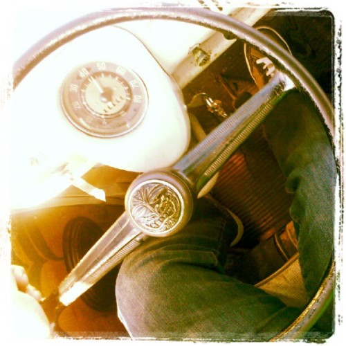 coffeeandcatnaps:  The view. #vw #volkswagenbus #volkswagen (Taken with instagram)