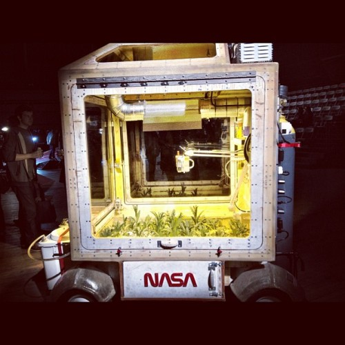 #tomsachs #nasa @rachelsladder11  (Taken with instagram)