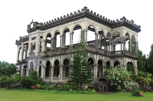 itsmefuckerella:  The Ruins, Bacolod City, Philippines. itsmefuckerella.tumblr.com   Madd old pic of me and relatives standing on the stairs :)