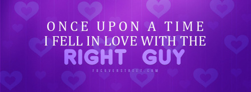 Mr Right Facebook Covers