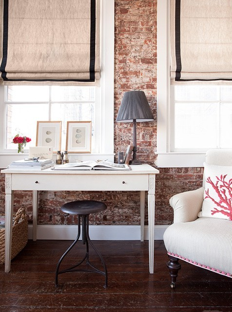 micasaessucasa:  Cool Interiors With Exposed Brick Walls