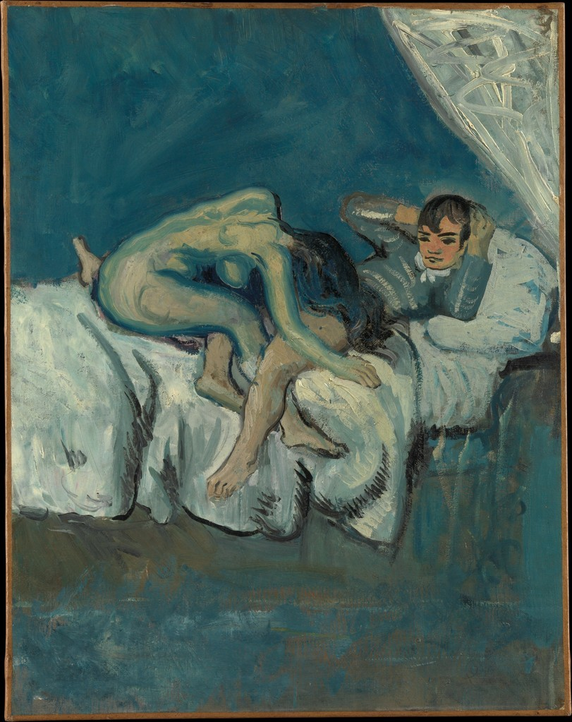 "Pablo Picasso, Erotic Scene (known as ""La Douleur"") , ca.1902-1903"